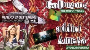 Go Dugong / Addict Ameba live @ Spazio4
