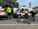 ciclista investito via Rigolli