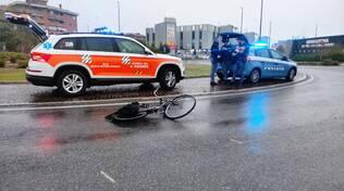 ciclista rotonda Europa