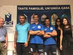 coach Enrico Mazzola e il presidente Stiliano Faroldi in visita alla sede aziendale di Ferri