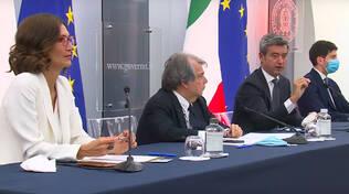 Conferenza stampa decreto green pass