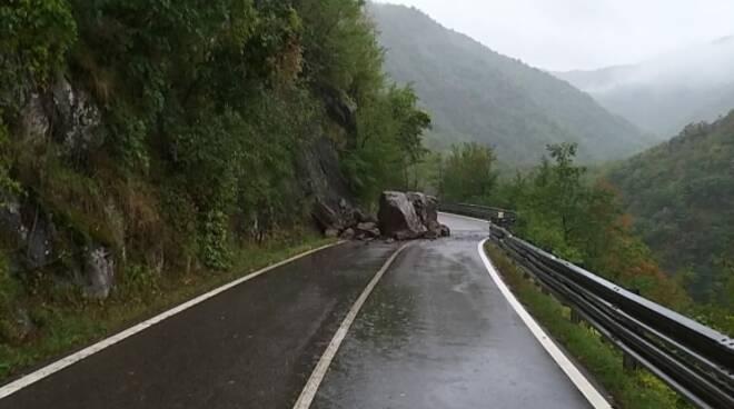 frana massi Val D'Aveto