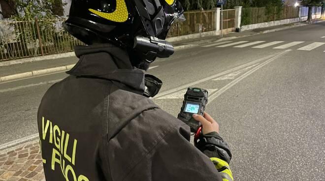fuga di gas via Boselli