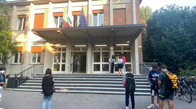 Il primo giorno di scuola a Piacenza