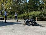 incidente auto contro moto Grazzano Visconti