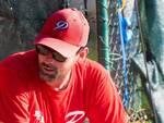 Nella foto (di Aldo Scorsoglio) il manager del Piacenza Baseball Gianluca Marenghi