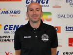 Nella foto di Floriano Zorzella, coach Gabriele Bruni (Canottieri Ongina)