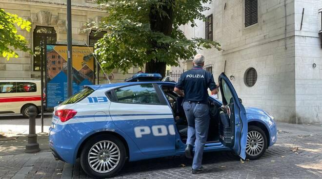 polizia alla faustini frank