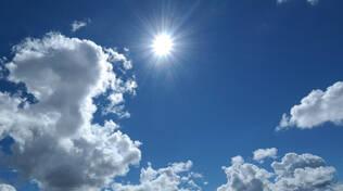 Sole nuvole