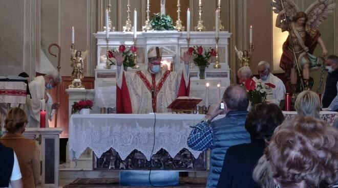 Vescovo Adriano Cevolotto a Zerba