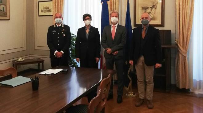 Firma protocollo legalità Prefettura