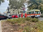 Rissa a Piazzale Genova