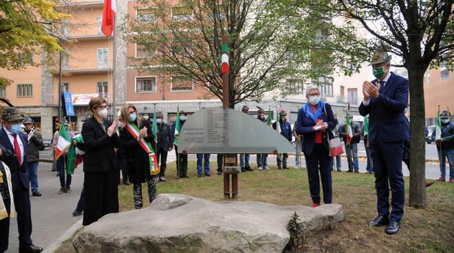 Inaugurazione monumento
