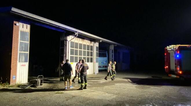 incendio Raineri garage