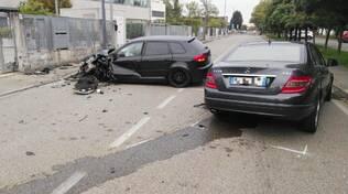 incidente via Jacopo Reggi