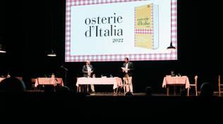 Presentazione Osterie d'Italia 2022