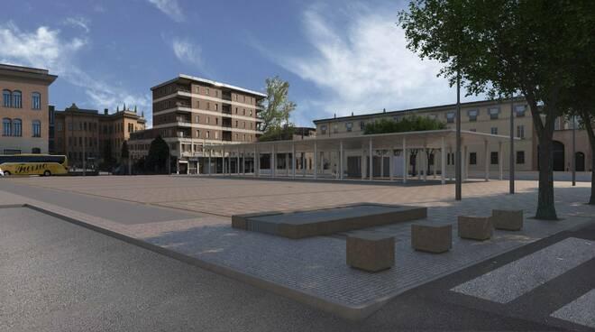 rendering piazza Cittadella