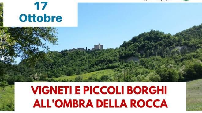 Val Tidone sentiero Lentamente Rocca e Vigneti
